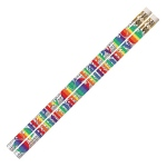 Birthday Blitz 12pk Motivational Fun Pencils