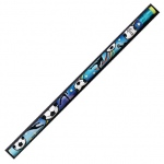 Decorated Pencils Sports Asst 12pk