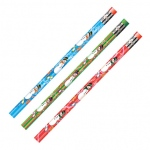 Decorated Pencils Holiday Snowmen Asst