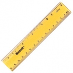 Plastic Ruler 6 In
