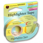 Removable Fluorescent Yellow Highlighter Tape