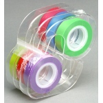 Removable Highlighter Tape 1 Roll Each Of Six Colors