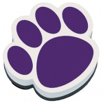 Magnetic Whiteboard Eraser Purple Paw