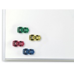 Magnetic Whiteboard Erasers 4/st