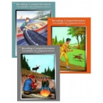 Edcon's Reading Comprehension Workbooks: All 3 Books, Grade 2, Reading Level 2.1 to 2.9