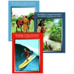 Edcon's Reading Comprehension Workbooks: All 3 Books, Grade 3, Reading Level 3.1 to 3.9