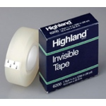 Tape Highland Invisible 3/4 X1296