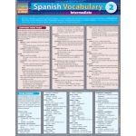 Barcharts Spanish Vocabulary 2: Quick Study Guide