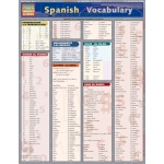 Barcharts Spanish Vocabulary Quick Study Guide