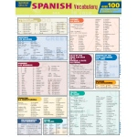 Barcharts Spanish Vocabulary Quizzer Quick Study Guide