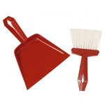 Dust Pan & Whisk Broom Set Comes In Assorted Colors