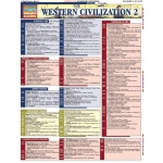 Barcharts Western Civilization 2 Quick Study Guide
