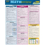 Barcharts Math Review Quizzer Quick Study Guide