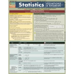 Barcharts Statistics Equations & Answers Quick Study Guide