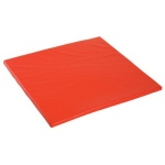 Early Childhood Cushion Square-Playhouse Cube Mat: Red, 28""