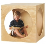 ECR4Kids Birch Playhouse Cube - Frame