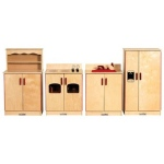 Early Childhood Kitchen Set: 4 Pieces