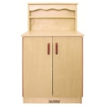Early Childhood Play Kitchen Cupboard: Birch