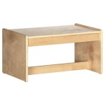Early Childhood Living Room Set: Birch, Coffee Table