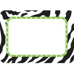 Zebra Name Tags Labels