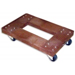 Luxor Heavy Duty Plastic Dolly: Putty