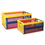 ECR4Kids Large Vented Collapsible Crate