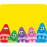 Name Tags Colorful Crayons 36/pk