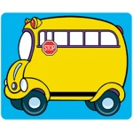 Name Tags School Bus 36/pk