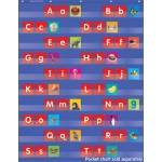 Alphabet Pocket Chart Add Ons Upper And Lowercase Letters