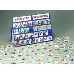 Four Step Sequencing Tabletop Pocket Chart