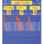 Counting Caddie And Place Value Pocket Chart Gr K-3