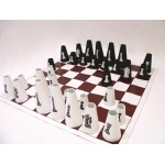 Chess Checkers Set Cone: 8' x 8'