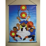 Basketball Toss Game Set