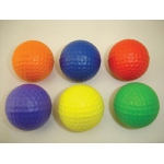 Oversized Foam Golf Balls: Set of 6