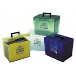 Pendaflex Frosted File Box 13.5w X 10.5l X 9.75d