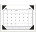 Academic Economy Desk Pad 14-Month Jul-Aug