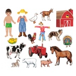 My Farm Friends Flannelboard Set